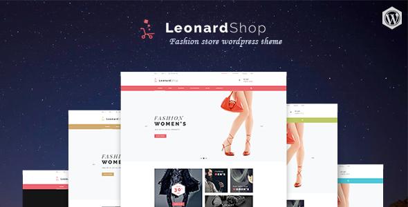 Leonard Shop - Responsives WooCommerce WordPress Layout