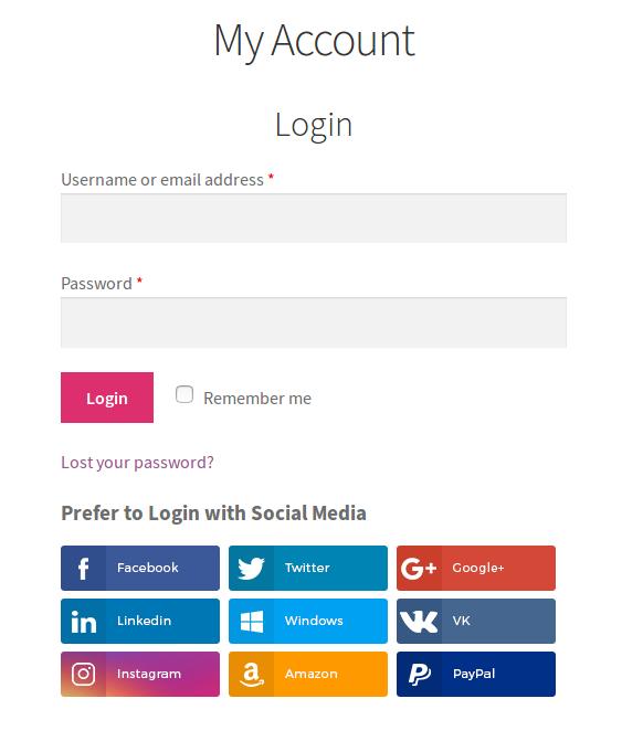 Verknüpfen Sie soziale Konten mit Benutzerkonten