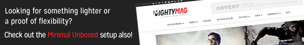 MightyMag - Magazin, Shop, Community WP Layout