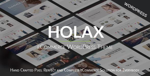 Holax - Mode WooCommerce WP Thema