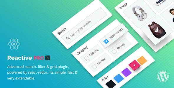 Reactive Pro - Erweiterte WP-Suche, Filter & Gitter