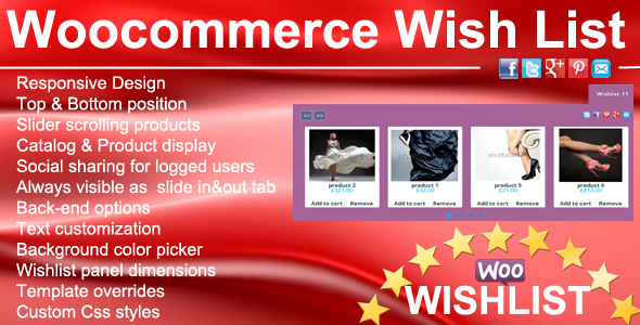 Woocommerce Wunschliste