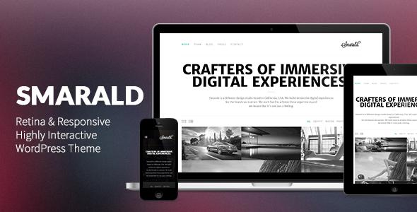 Smarald: Responsives WordPress Layout für Retina Ready