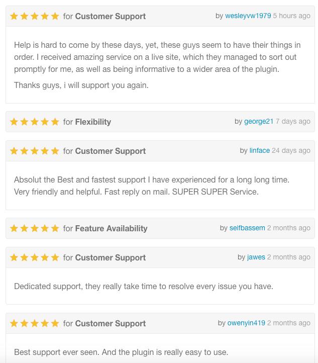 Bewertungen für E-Mail-Anpassung für WooCommerce