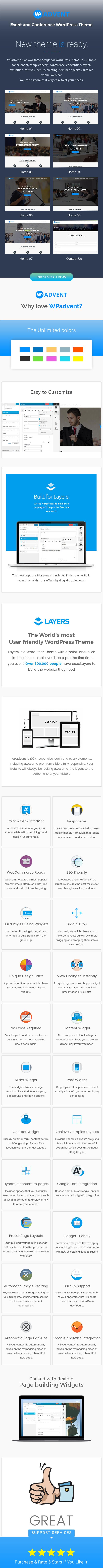 WPadvent - Veranstaltung und Konferenz WordPress Template