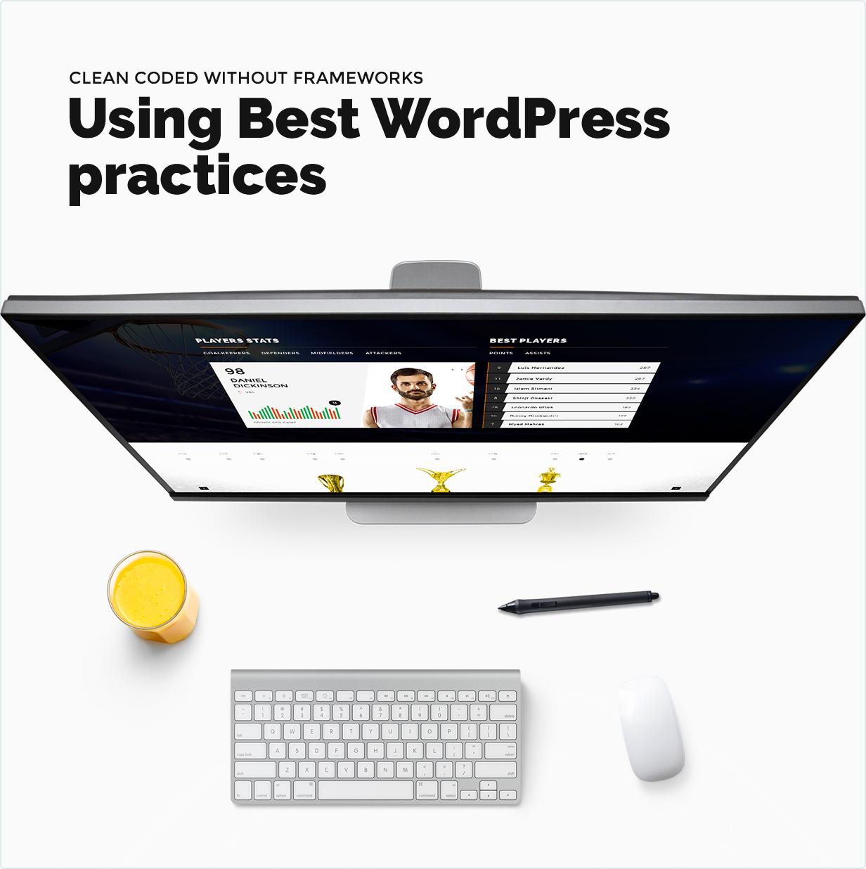 Mit den besten WordPress-Praktiken