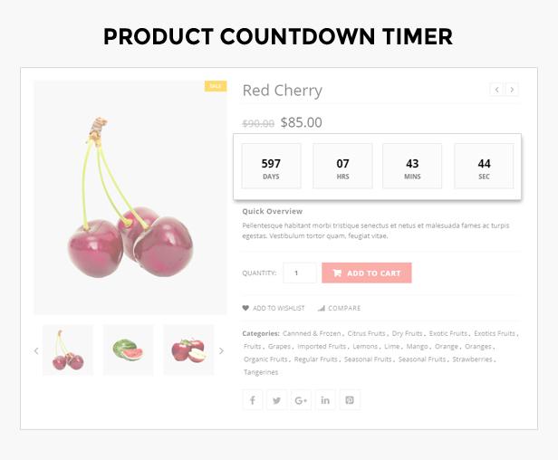 Früchte Shop-Thema