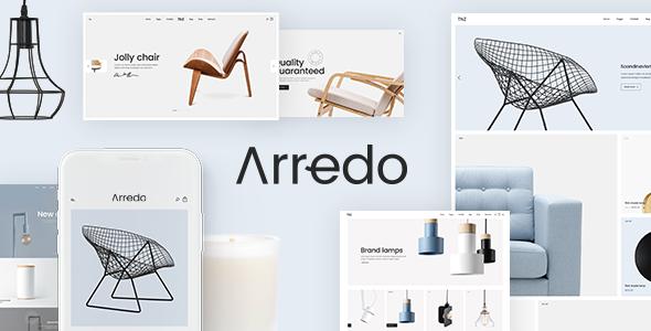 Wordpress Shop Template Arredo - A Clean WooCommerce WordPress Theme