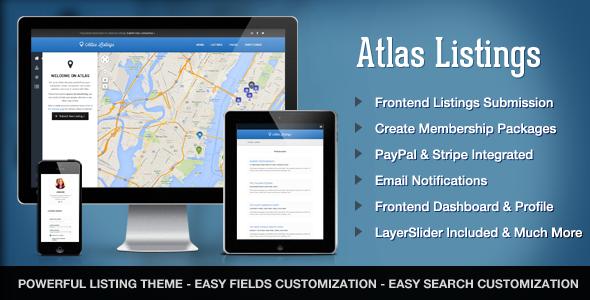 Wordpress Directory Template Atlas Directory & Listings Premium WordPress Theme