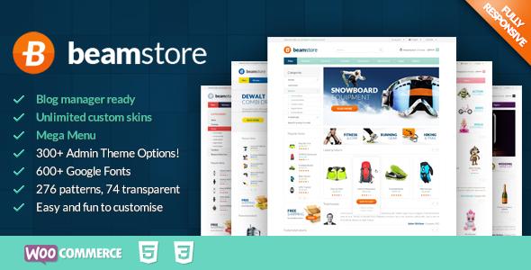Wordpress Shop Template BeamStore - Multipurpose WooCommerce Theme