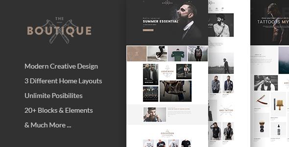 Wordpress Shop Template Boutique - Multipurpose WooCommerce Theme