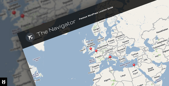 Wordpress Directory Template The Navigator: Premium WP Location Guide + Blog
