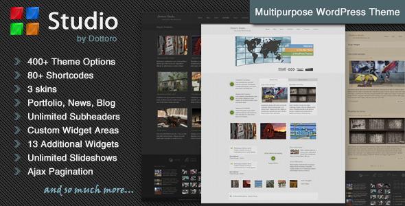Wordpress Corporate Template Dottoro Studio - Multipurpose WordPress Theme