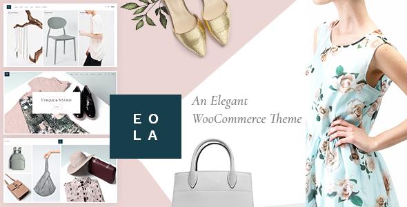 Wordpress Shop Template Eola - An Elegant, Multipurpose WooCommerce Theme