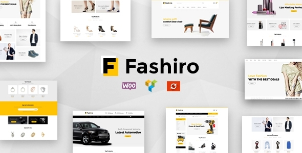 Wordpress Shop Template Fashiro - Multipurpose WooCommerce Theme