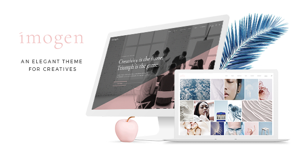Wordpress Kreativ Template Imogen - An Elegant Theme for Designers and Creative Businesses