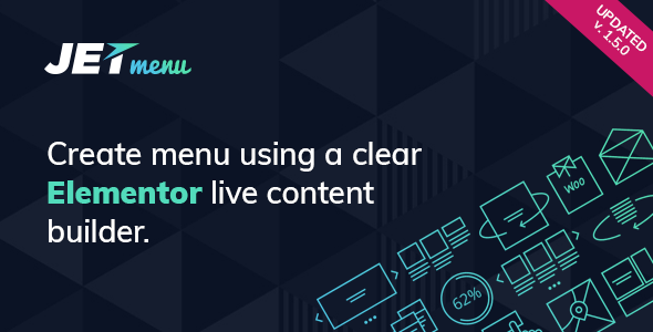 Wordpress Add-On Plugin JetMenu - Mega Menu for Elementor Page Builder