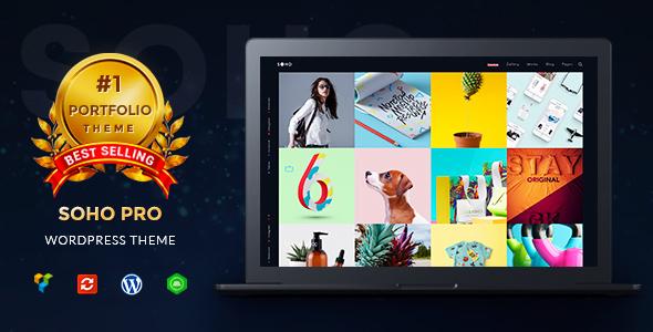Wordpress Kreativ Template Creative Portfolio WordPress Theme - SOHO Pro