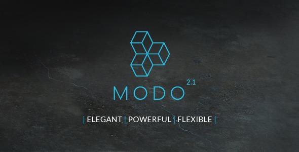 Wordpress Kreativ Template MODO  Multi-Purpose Responsive Theme