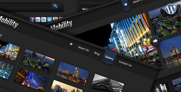 Wordpress Corporate Template Mobility WordPress Theme for Web and iPad