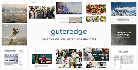 Wordpress Kreativ Template Outeredge - Responsive Multi-Purpose Theme