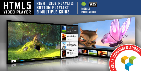Visual Composer Addon HTML5 Videoplayer
