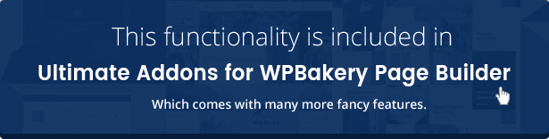 Wordpress Add-On Plugin Parallax & Video Backgrounds for WPBakery Page Builder