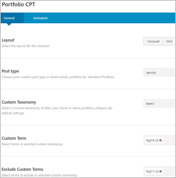 Benutzerdefinierte Beitragstypen und Taxonomien für Fusion Builder