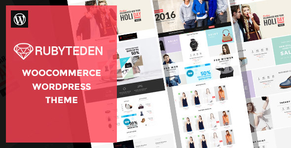 Wordpress Shop Template RubyTeden - Responsive WooCommerce Shopfront Theme