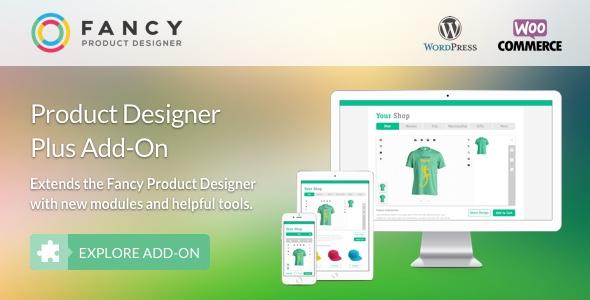 Wordpress Add-On Plugin Fancy Product Designer Plus Add-On   WooCommerce WordPress