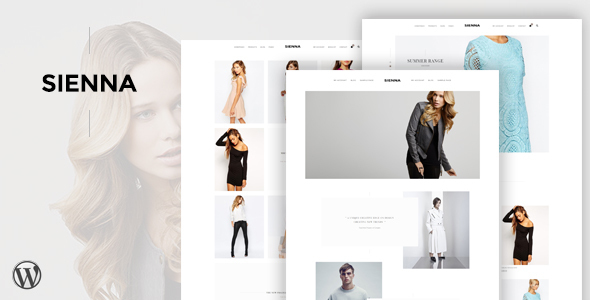 Wordpress Shop Template Sienna - Fashion WooCommerce WordPress Theme