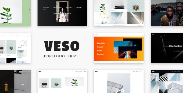 Wordpress Kreativ Template Veso - Multipurpose Portfolio Theme