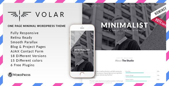 Wordpress Kreativ Template Volar - Responsive & Multipurpose WordPress Theme