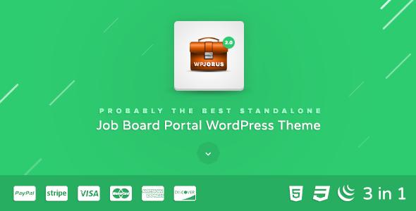 Wpjobus Job Board Und Lebenslauf Wordpress Template Agentur Zweigelb