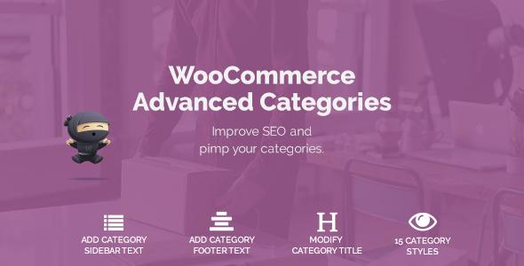 Wordpress E-Commerce Plugin WooCommerce Advanced Categories