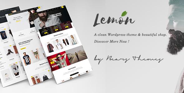 Wordpress Shop Template Lemon | A Clean and Smooth WooCommerce WordPress Theme