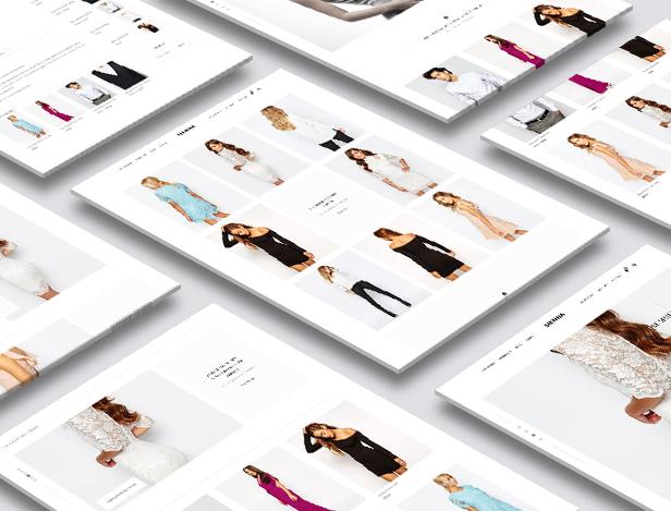 Sienna - Mode WooCommerce WordPress Vorlage