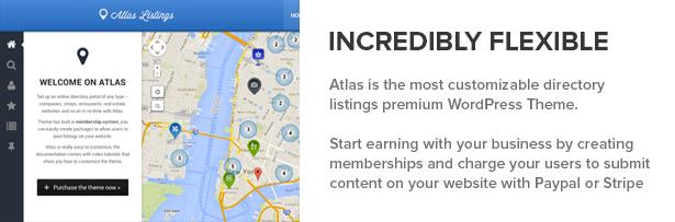 Atlas Verzeichnis & Listings Premium WordPress Layout