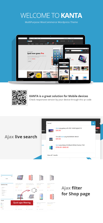 Kanta - Mehrzweck WooCommerce WordPress Vorlage