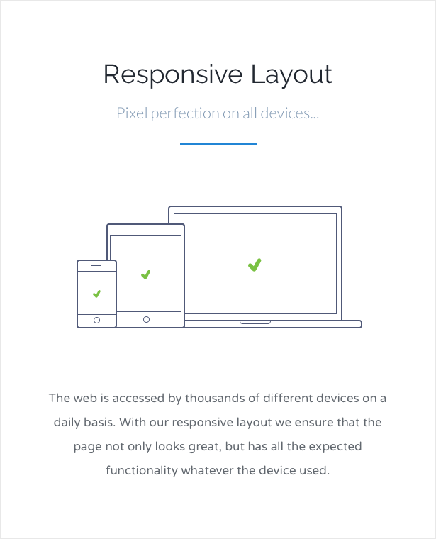 Responsives Layout