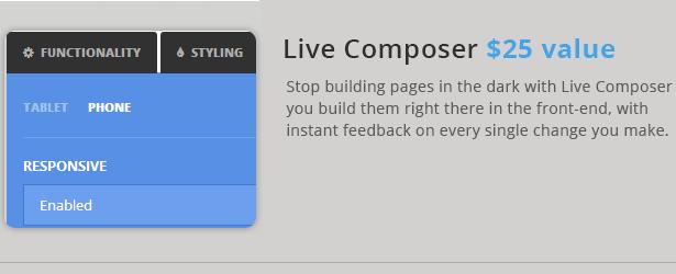 Liwo WordPress Vorlage mit Live Composer-Unterstützung