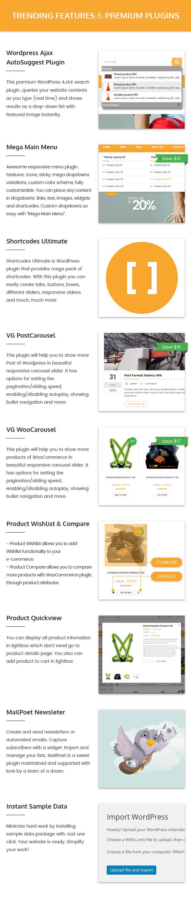 VG Labo - WooCommerce-Template für Werkzeuge, Equipment Store