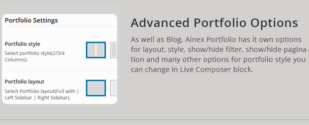 Unterstützung der Liwo-Portfolio-Seite