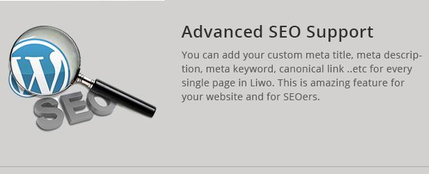 Liwo unterstützt SEO auch alle bekannten SEO Plugins