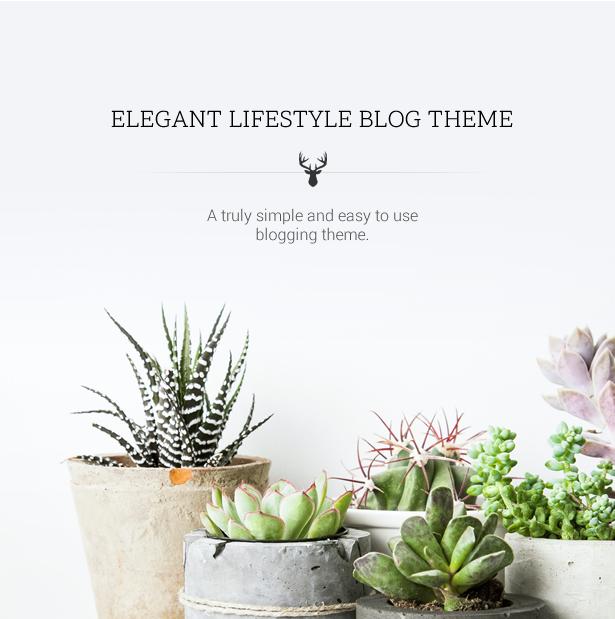 Hallo Freitag - Eleganter Lifestyle Blog Vorlage