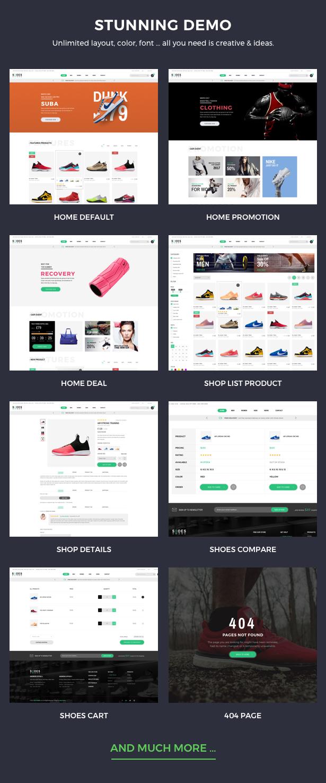 Schuhe WordPress Template