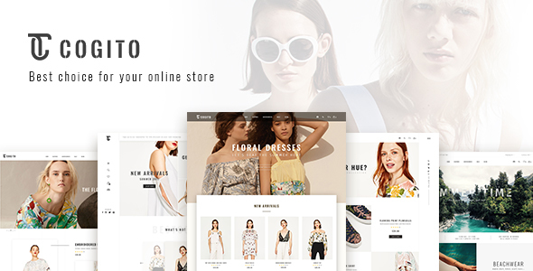 Wordpress Shop Template Cogito - Clean, Minimal WooCommerce Theme