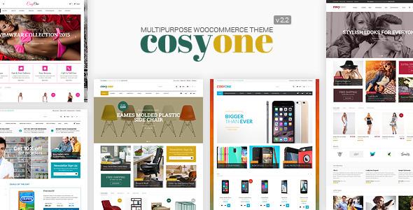 Wordpress Shop Template CosyOne - Multipurpose Woocommerce Theme