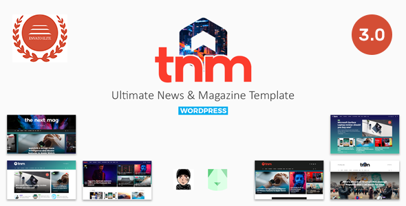 Wordpress Blog Template The Next Mag - Ultimate Magazine WordPress Theme