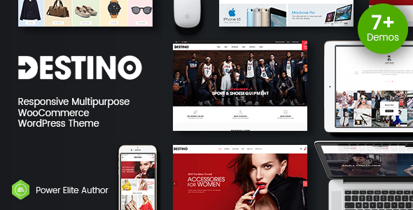 Wordpress Shop Template Destino - Advanced WooCommerce WordPress Theme with Mobile-Specific Layouts